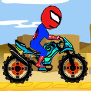 Spider man Motorbiker Game