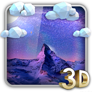 Storm Mountain 3D Wallpaper