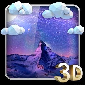 Storm Mountain 3D Wallpaper