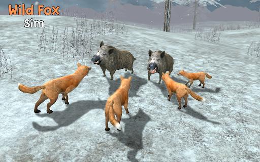 Wild Fox Sim 3D для планшетов на Android