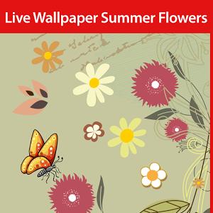 Летние цветы Live Wallpaper