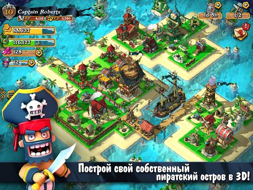 Plunder Pirates для планшетов на Android