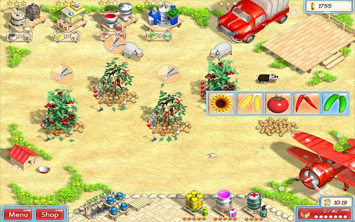 Игра Солнечная ферма для планшетов на Android