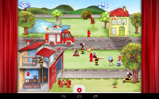 Игра Tiny Firefighters на Андроид