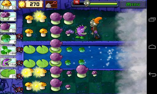 Растения против Зомби (Plants vs. Zombies) для планшетов на Android