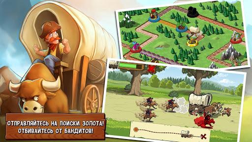 Игра Орегонский путь: Поселенцы для планшетов на Android