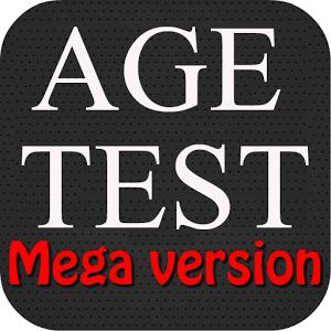 Тест на возраст — Мега версия