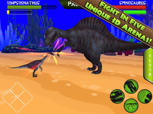 Игра Jurassic Arena: Dinosaur Fight для планшетов на Android