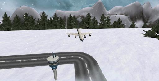 Flight Simulator Snow Plane 3D для планшетов на Android