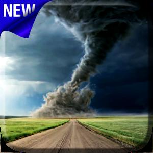 Торнадо — живые обои