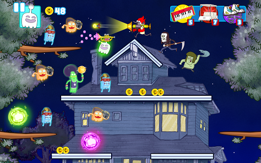Игра Поджигатели привидений для планшетов на Android