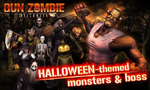 """Игра """"Gun Zombie: Halloween"""" на Андроид"""