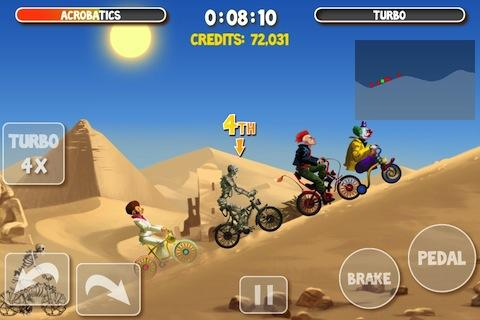 Игра Crazy Bikers 2 для планшетов на Android