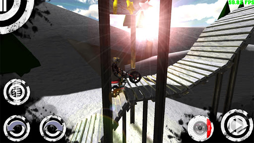 Игра Trial Extreme 2 HD на Андроид