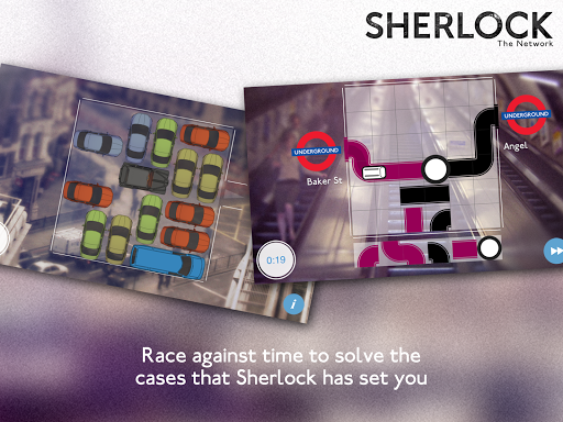 Sherlock: The Network на Андроид
