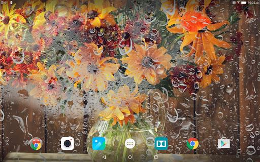 Осенние Цветы - Живые Обои скачать на Андроид