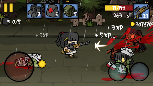 Игра Zombie Age 2 для планшетов на Android