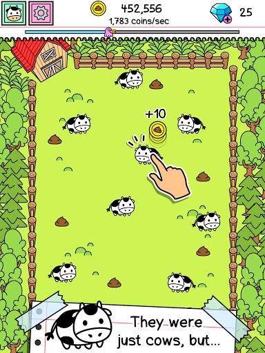 Cow Evolution - Коровы для планшетов на Android