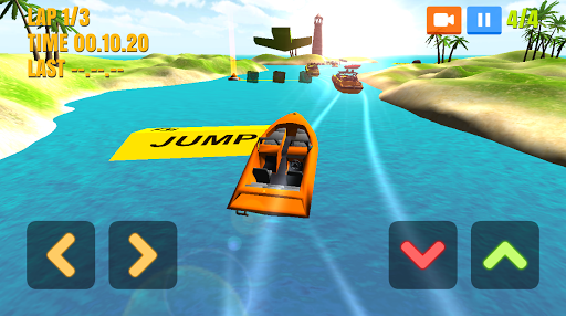 Игра Boat Racing на Андроид