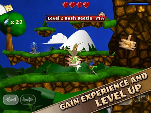 Игра Swordigo для планшетов на Android