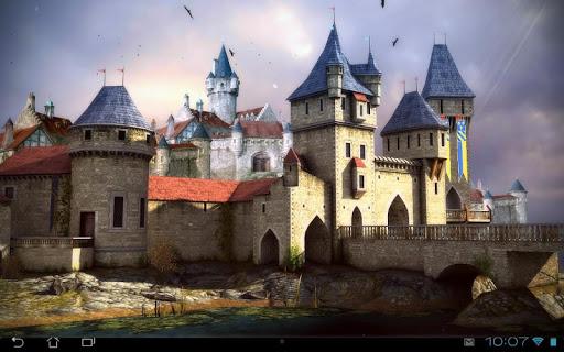 Живые обои Castle 3D Pro live wallpaper на Андроид