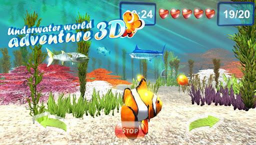 Подводный мир приключений 3D для планшетов на Android