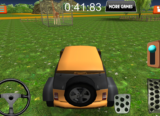 Игра Zoo Parking для планшетов на Android
