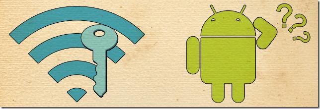 Android не сохраняет пароль WiFi