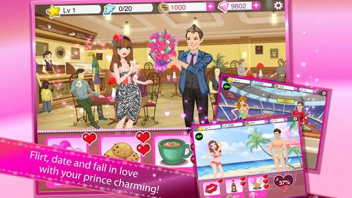 Игра Девочка-звезда: цвета весны на Андроид