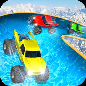 Water Slide Truck Race