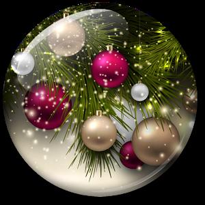 Рождество Живые Oбои