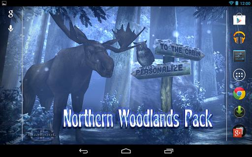"Живые обои ""Forest HD"" для планшетов на Android"