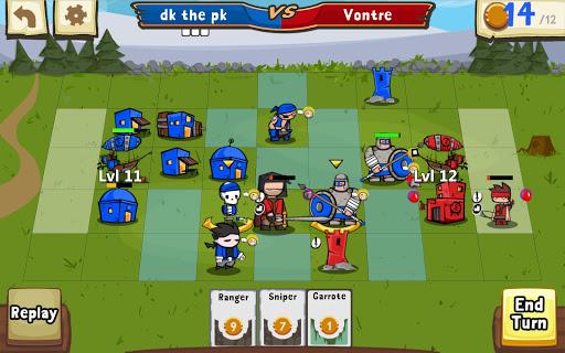 Игра Cards and Castles на Андроид