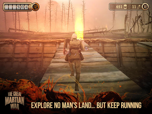 Игра The Great Martian War для планшетов на Android