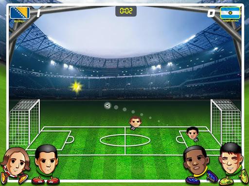 Игра Head Soccer Cup 2014 для планшетов на Android