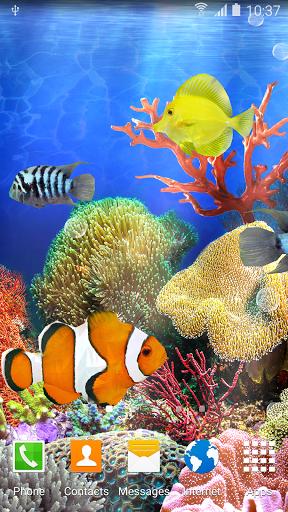 Коралловые Рыбки - Живые Обои скачать на Андроид