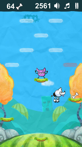Poodle Jump для планшетов на Android