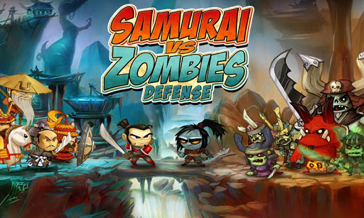 "Игра ""Samurai vs Zombies Defense"" на Андроид"