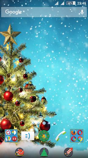 Christmas Tree XZ Theme скачать на Андроид