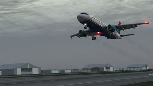 "Игра ""X-Plane 9 3D"" на Андроид"
