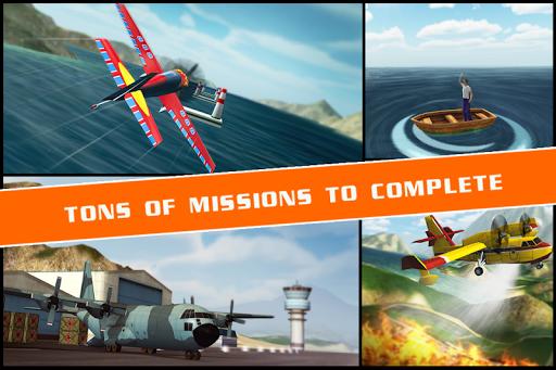 Flight Pilot Simulator 3D Free на Андроид