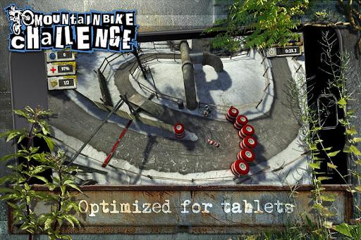 Mountain Bike Challenge для планшетов на Android