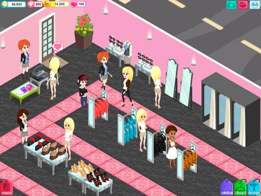 История бутика. Арена стиля для планшетов на Android