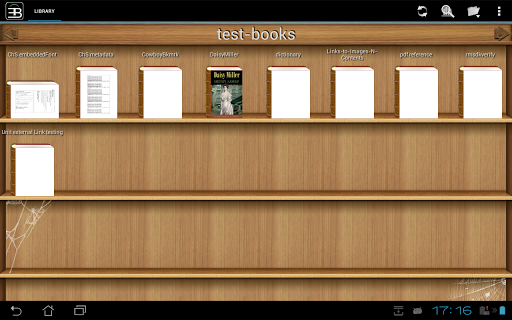 """Приложение """"EBookDroid - PDF & DJVU Reader"""" для планшетов на Android"""