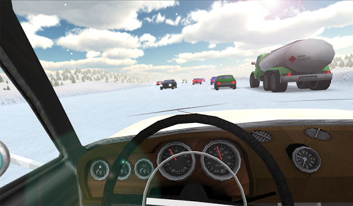 Russian Winter Traffic Racer на Андроид