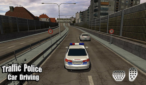 Игра Traffic Police Car Driving 3D для планшетов на Android