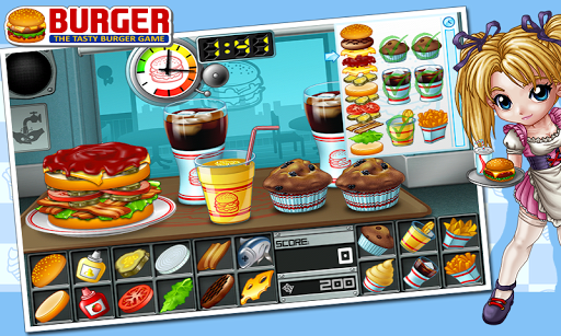 Игра Бутерброд для планшетов на Android