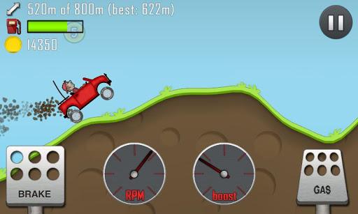 Игра Hill Climb Racing для планшетов на Android