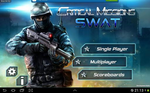 """Игра """"Critical Missions: SWAT"""" для планшетов на Android"""