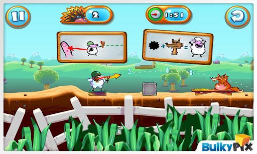 """Игра """"Saving Private Sheep 2"""" на Андроид"""